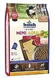 bosch HPC Mini Adult mit Lamm & Reis | Hundetrockenfutter für ausgewachsene Hunde kleiner Rassen (bis 15 kg) | 1 x 3 kg