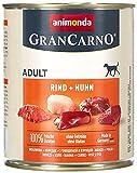 Das beste Nassfutter für Golden Retriever war Gran Carno Huhn & Rind